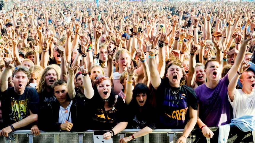 Färre går på konserter