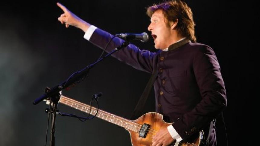 GAFFA värmer upp inför Paul McCartney