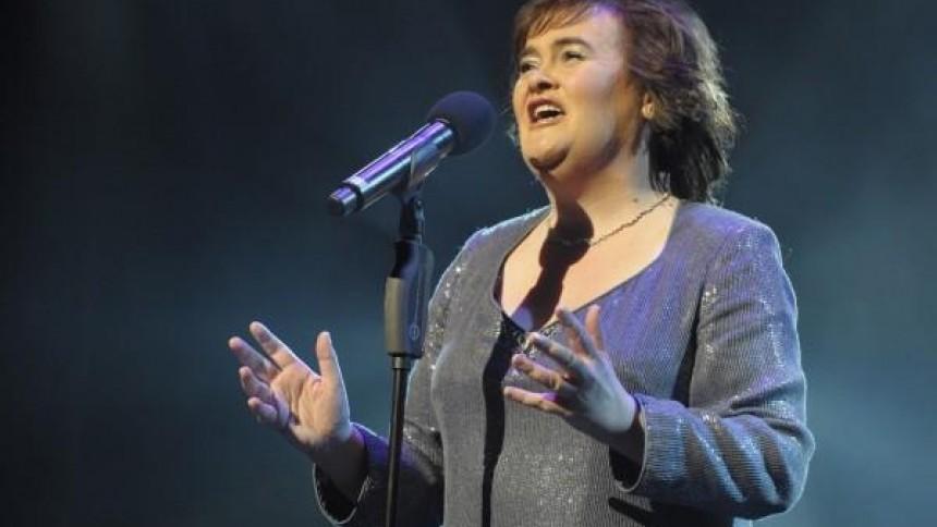 Susan Boyle i duett med Elvis