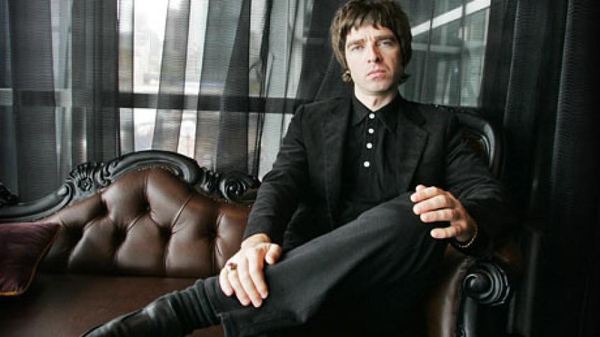 Noel Gallagher spelar in soloplatta