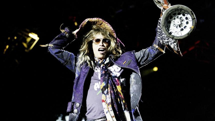 Aerosmith ger en sista konsert i Sverige