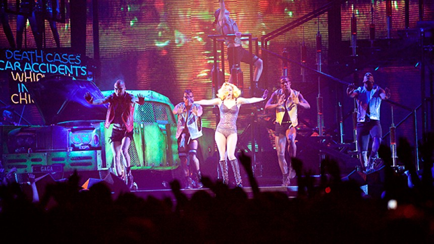 Lady Gaga: Globen, Stockholm