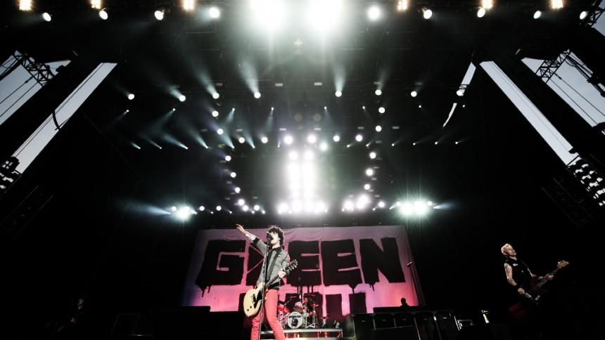 Green Day visar albumomslag