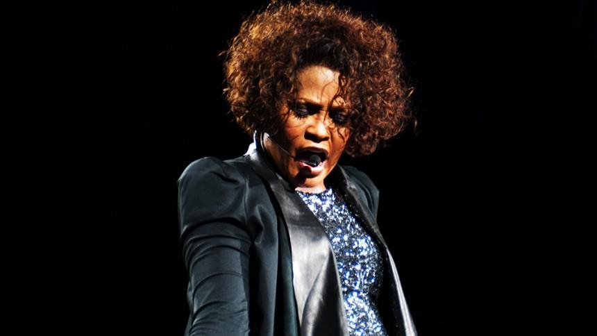 Whitney Houston död