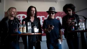 Alice In Chains - Press Conference, Peace & Love, Borlänge 100701