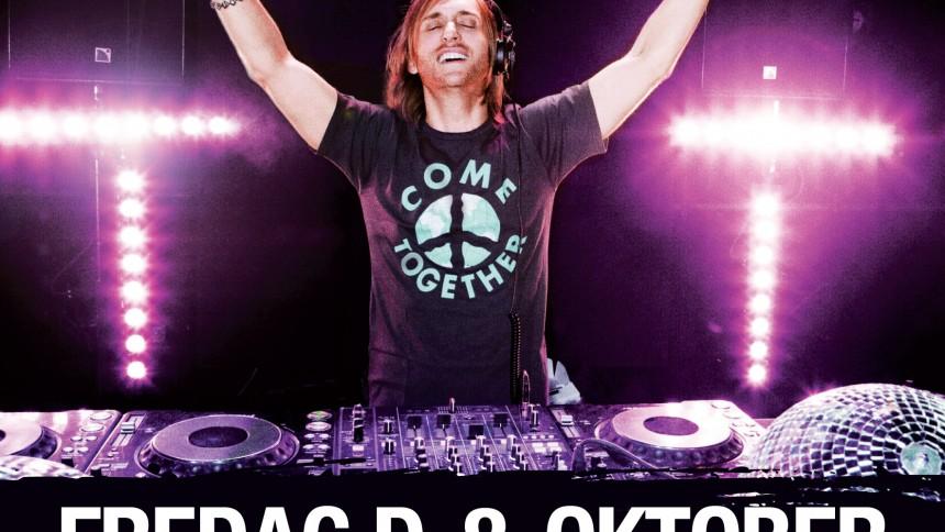David Guetta till Sverige