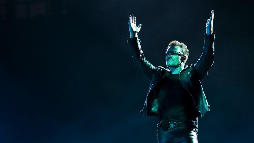 U2 till Glastonbury
