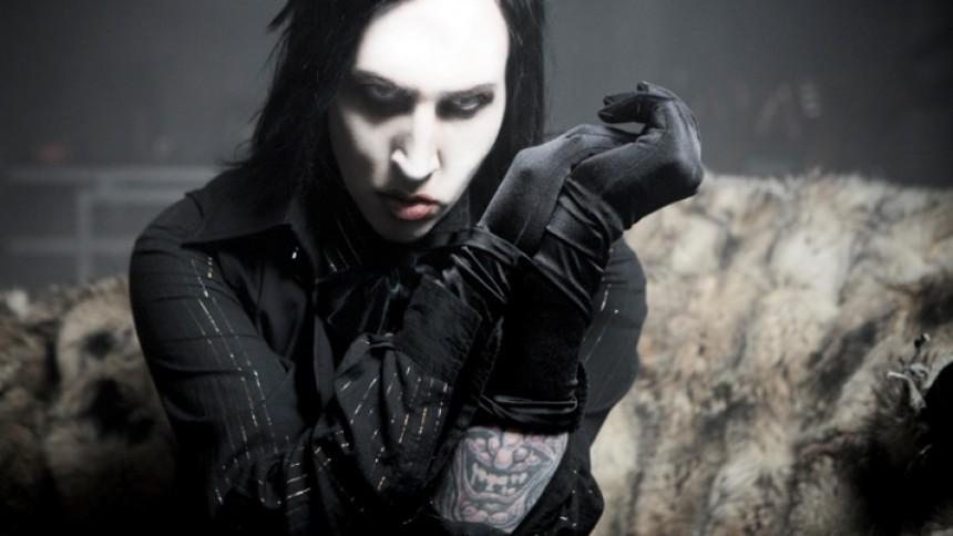 Marilyn Manson medverkar i talangshow