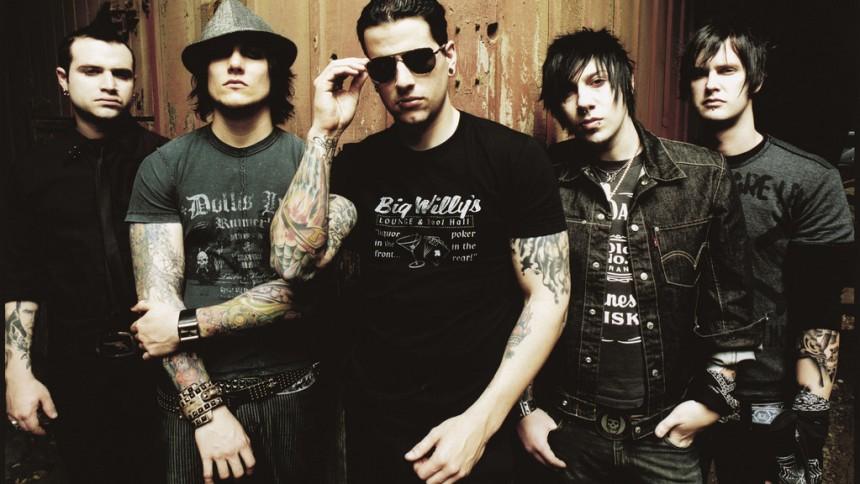 Avenged Sevenfold redo för Metaltown