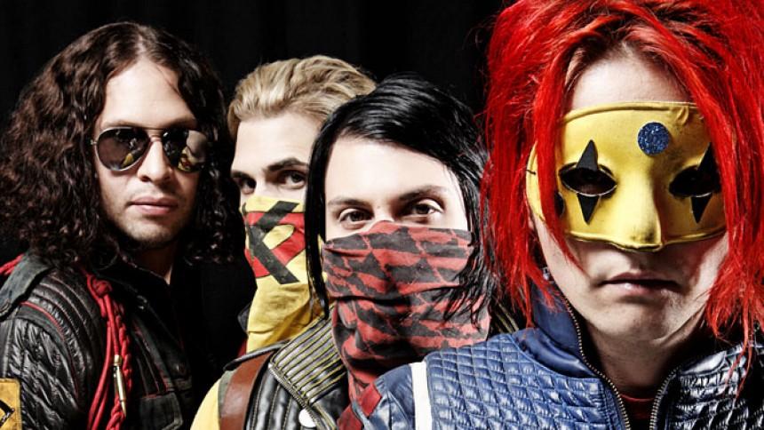 My Chemical Romance flyttar spelning