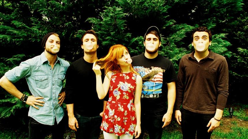 Putte i Parken pangar på med Paramore