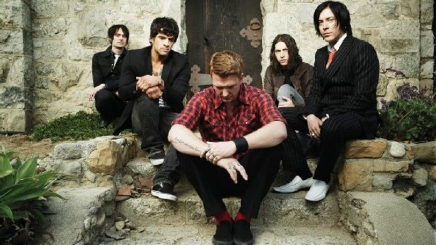 Queens of the Stone Age möter studion