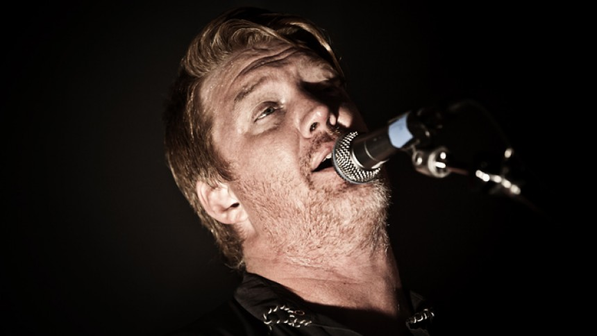 Queens Of The Stone Age är i studion