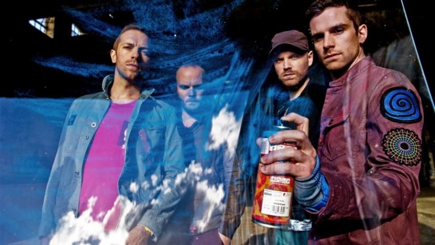 Coldplay är med singel