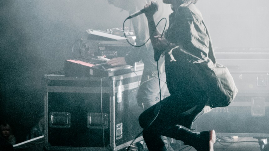 Crystal Castles: Green Stage, Hultsfredsfestivalen