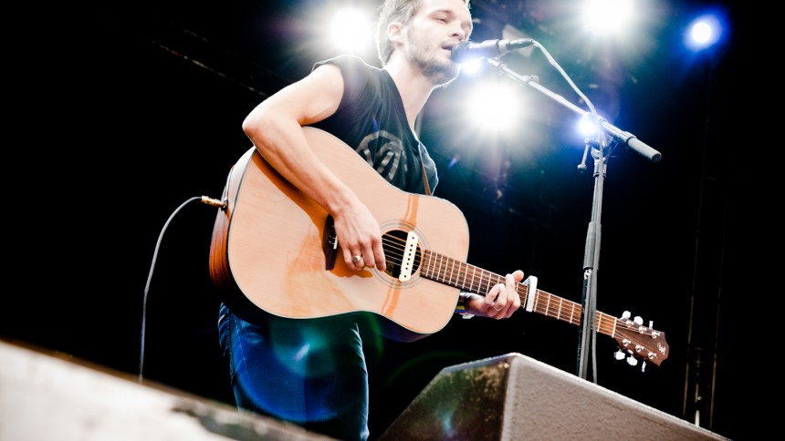 The Tallest Man On Earth: Green Stage, Hultsfred