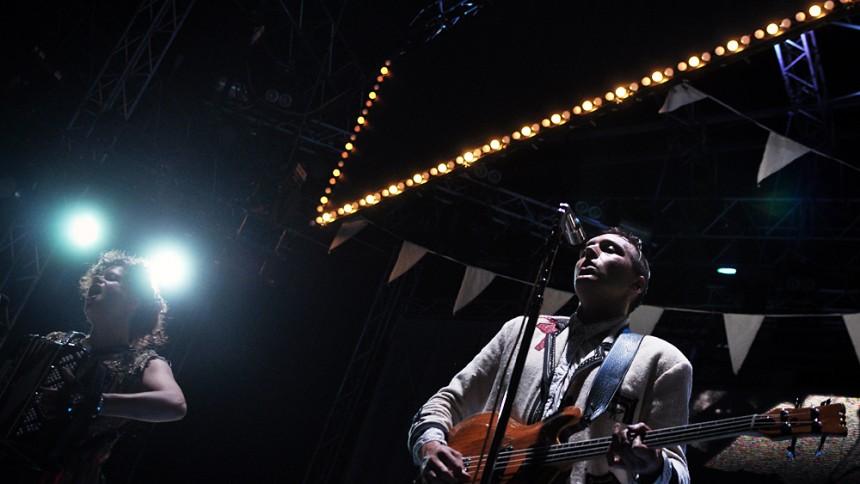 Arcade Fire: Popaganda, Stockholm