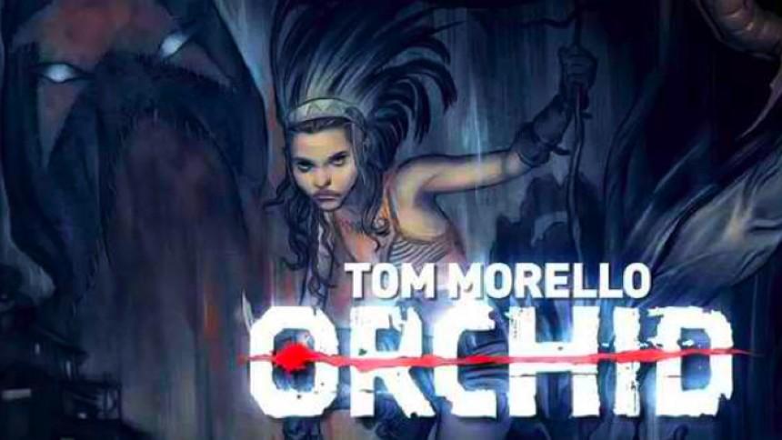Tom Morello skapar seriestripp