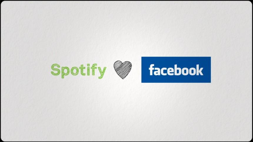 Spotify öppnar sig för Facebook