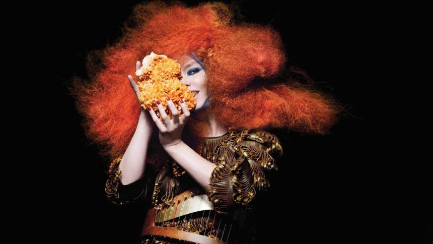 """Björk strömmar """"Biophilia"""""""