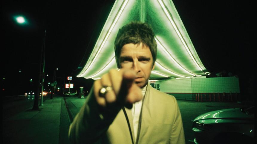 Noel Gallagher uppträder på Hultan