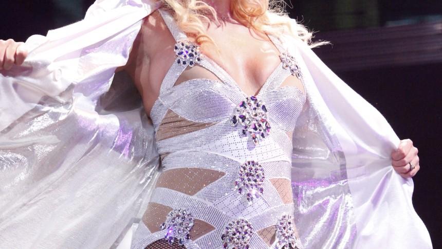 Britney Spears la krutet på showen