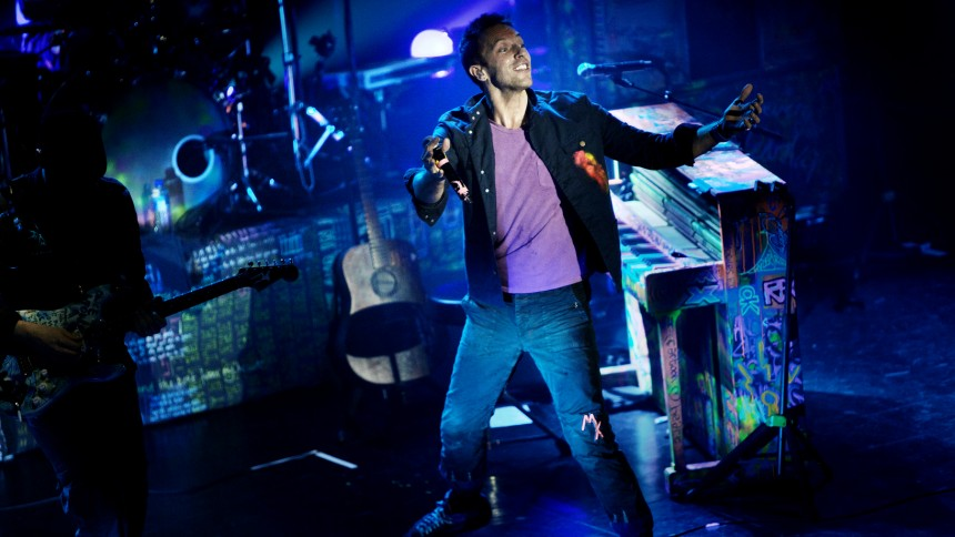 Coldplay till Sverige