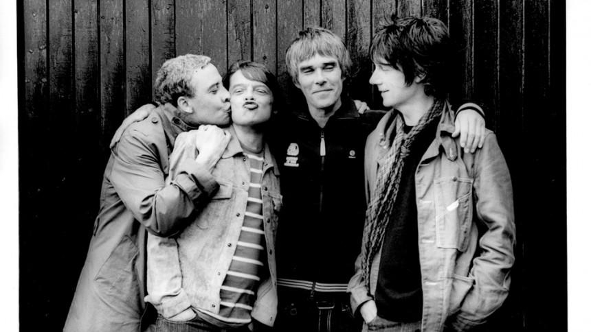Halva The Stone Roses på scen