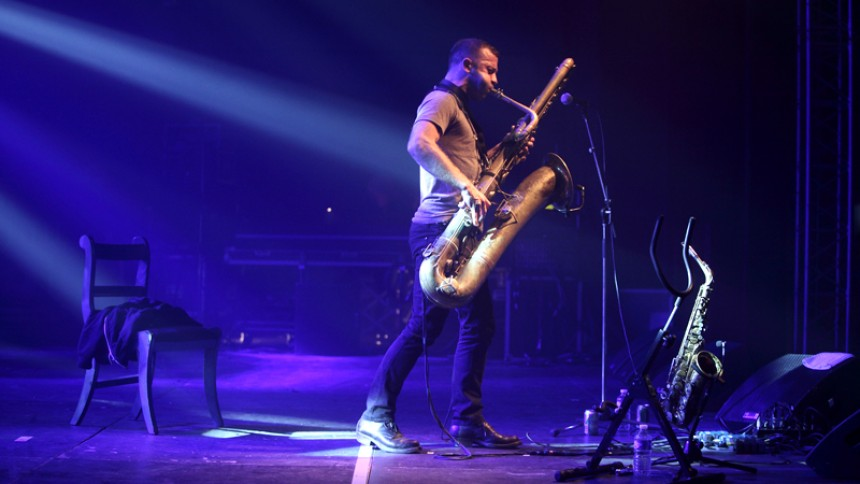 Colin Stetson: Trans Musicales, Rennes Frankrike