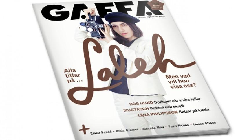 GAFFA februari ute nu – ny design