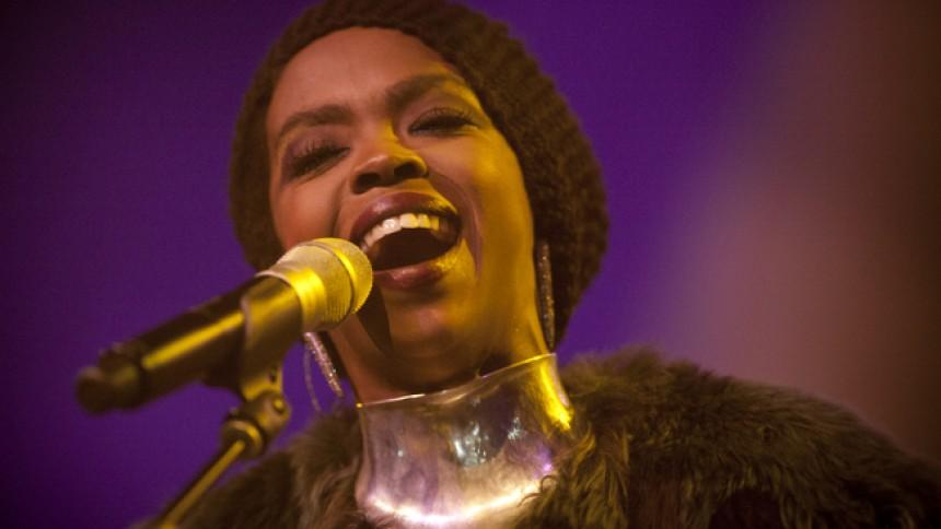 Lauryn Hill till England