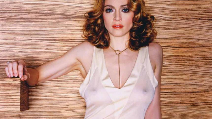 Madonna petar ner Bossen