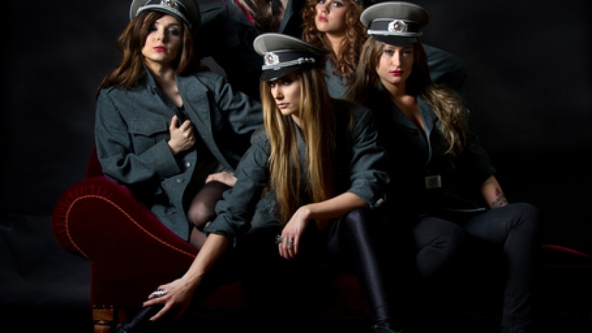 Kvinnlig DJ-grupp gör turné