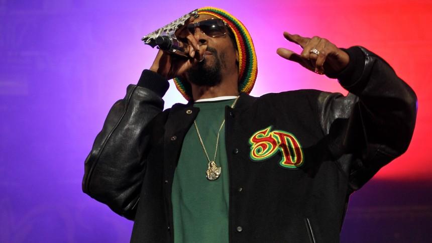 Snoop Dogg visar upp sig på Avenyn