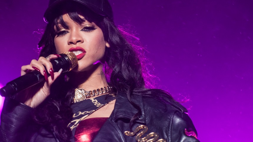 Rihannas nya album outades av misstag