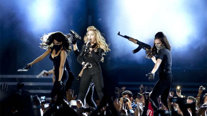 Madonna stämd efter konsert