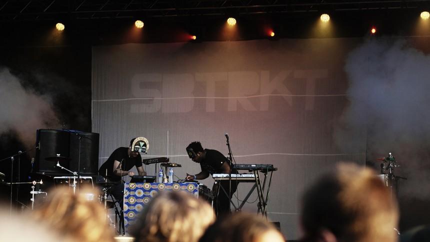 SBTRKT: Blue Stage, Hultsfredsfestivalen