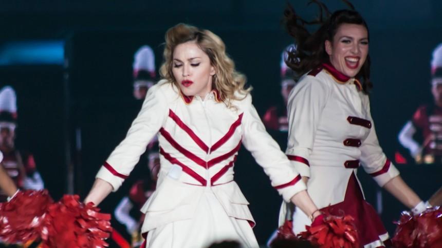 Madonna till Sverige