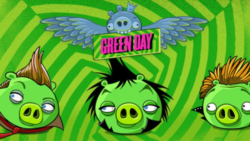Green Day blir tre gröna grisar