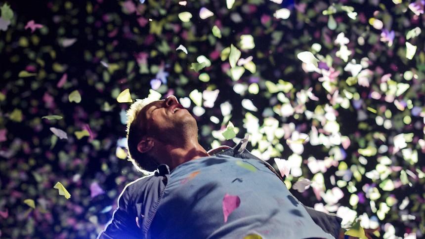 Coldplay, Rihanna och Jay-Z på samma scen
