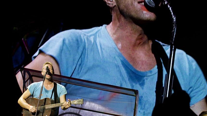 Coldplays sista andetag?