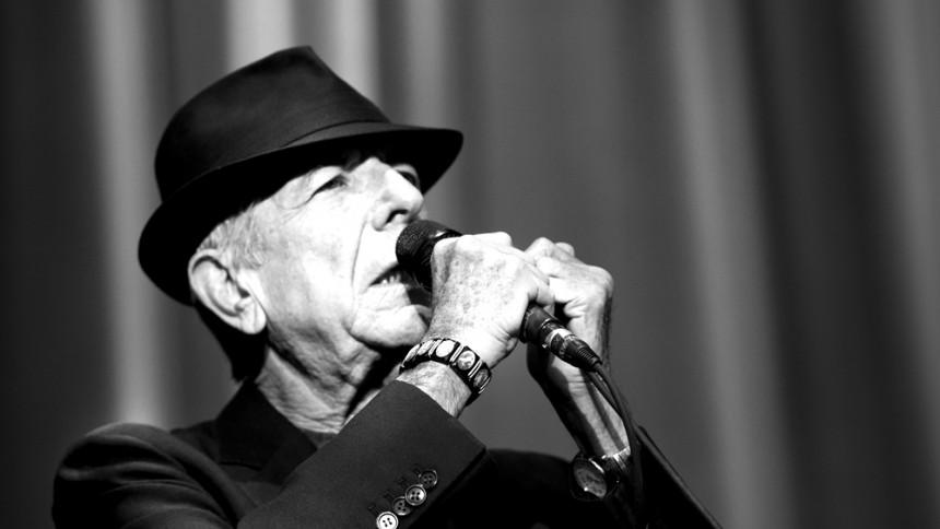 Leonard Cohen till Sverige