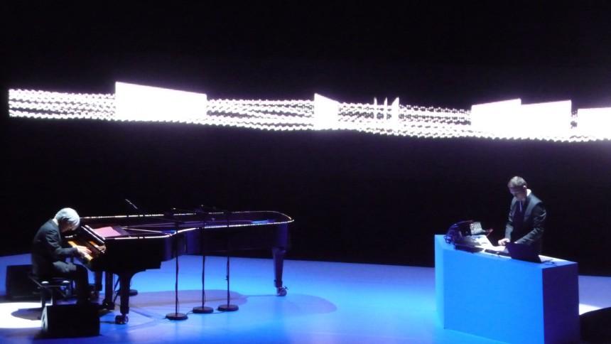 Alva Noto & Ryuichi Sakamoto: Uppsala Konsert & Kongress, Uppsala