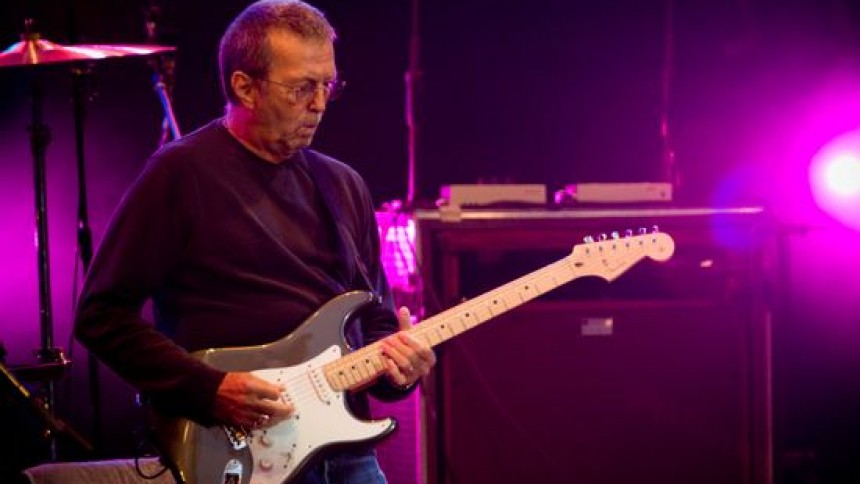 Eric Clapton tolkar sina idoler