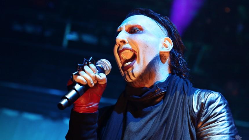 Marilyn Manson till Sverige