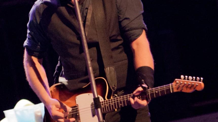 Bruce Springsteen jobbar med nytt