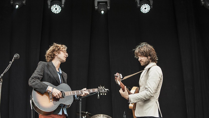 Kings Of Convenience: Green Stage, Hultsfredsfestivalen