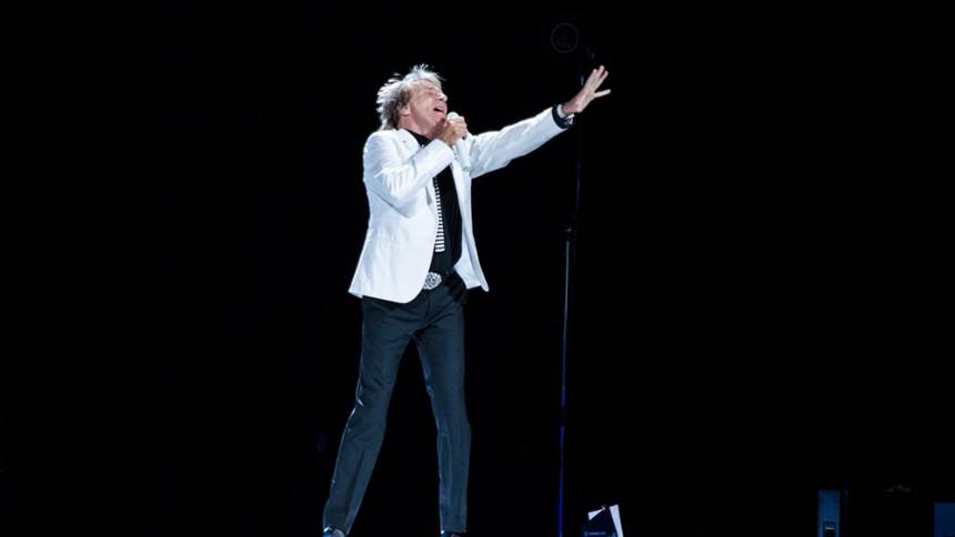 Rod Stewart: Globen, Stockholm