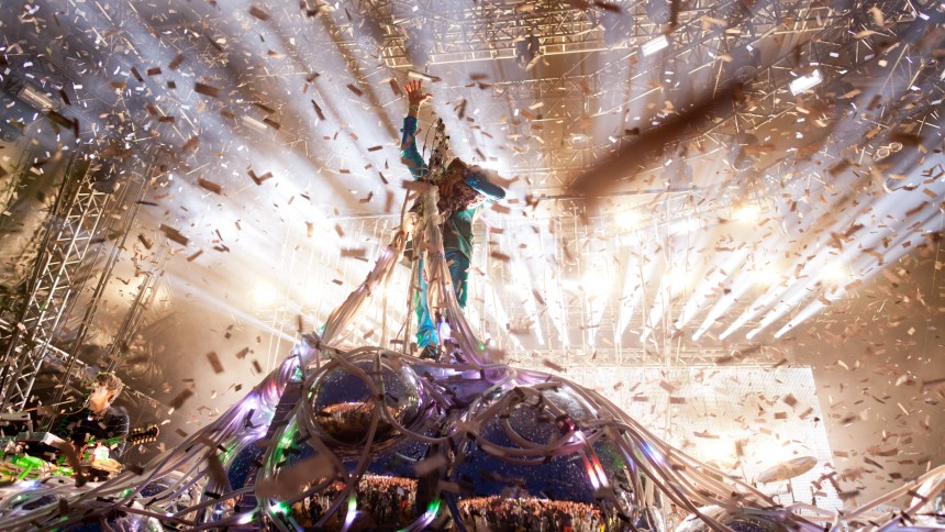 The Flaming Lips: Green Stage, Hultsfredsfestivalen
