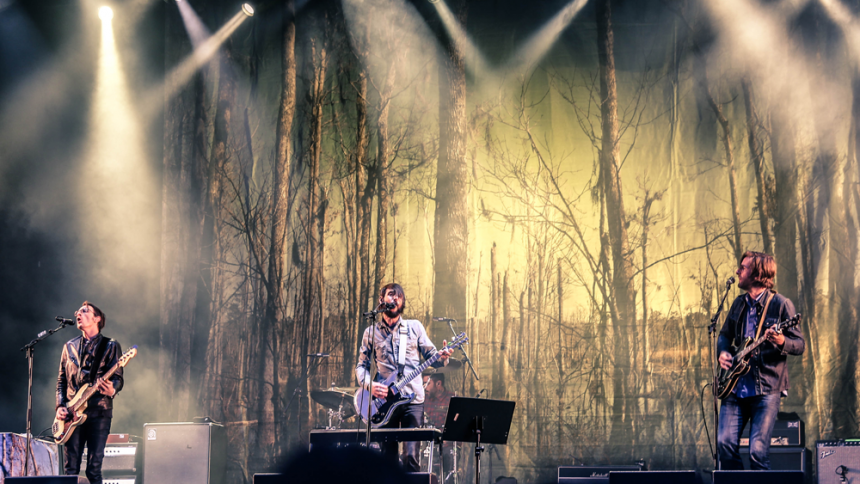 Band Of Horses: Green Stage, Hultsfredsfestivalen